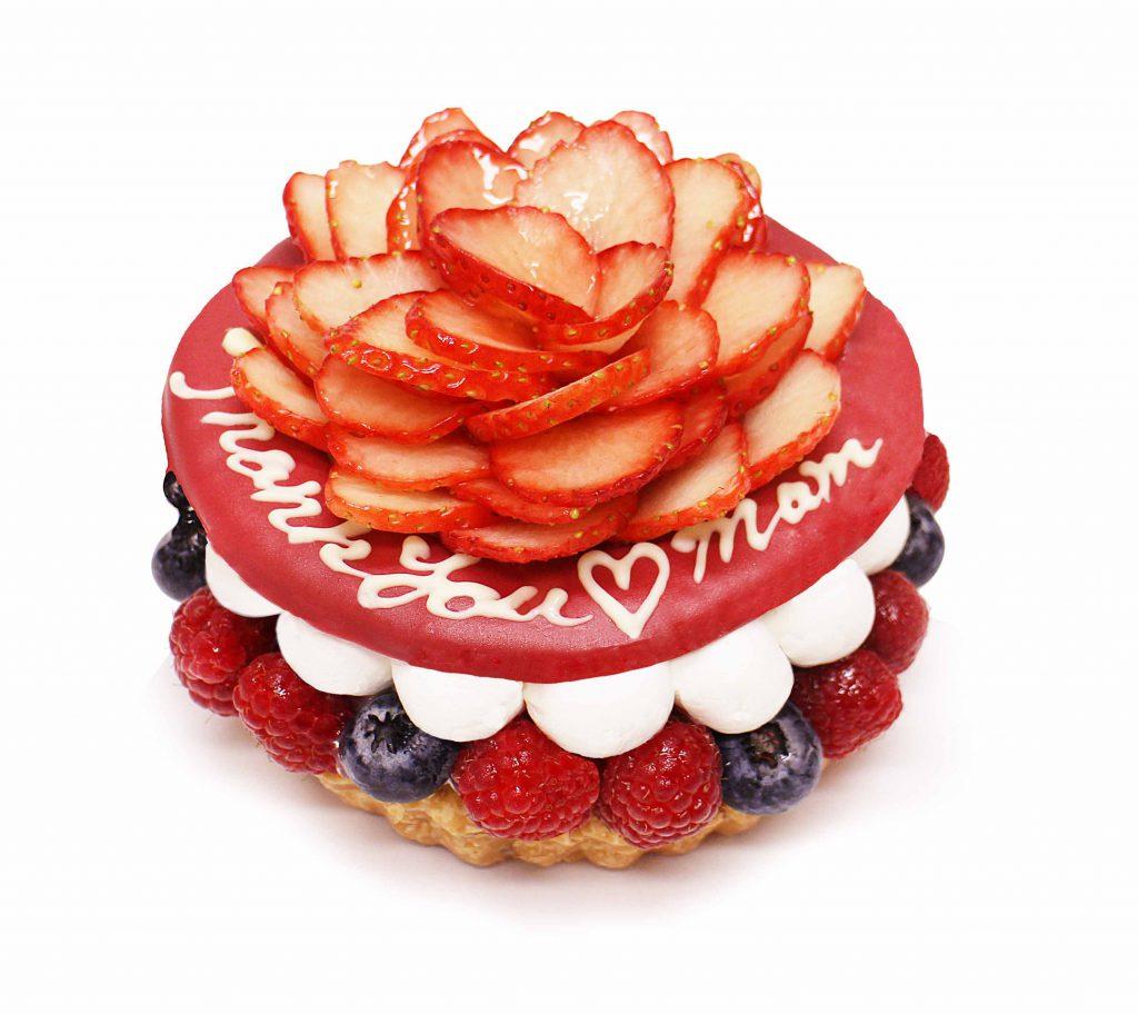 感謝の気持ちをケーキにのせて。...